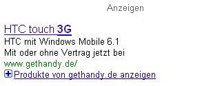 Adwords mit Google Base kombinieren
